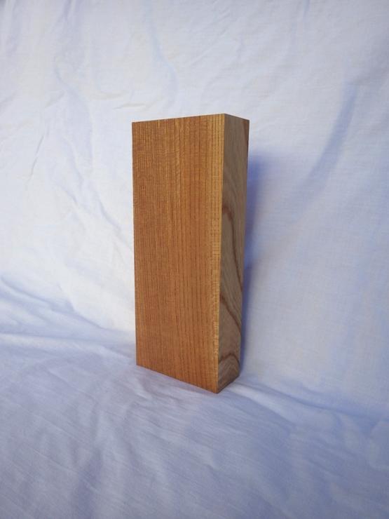 欅 表札 高さ212ミリ×幅88ミリ×厚さ36ミリ