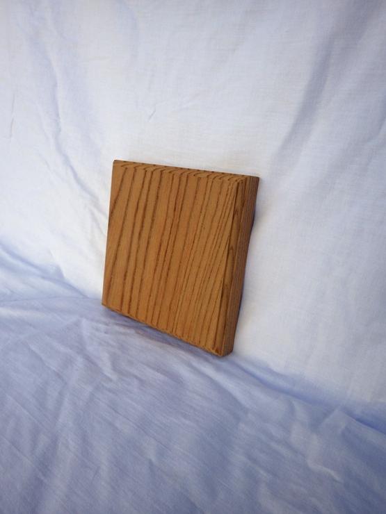 欅 ネームプレート(表札) 高さ150ミリ×幅150ミリ×厚さ22ミリ