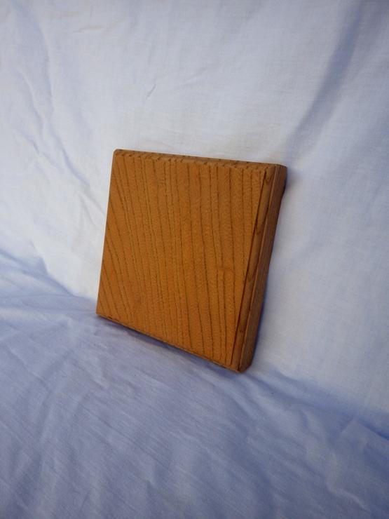 欅 ネームプレート(表札) 高さ150ミリ×幅150ミリ×厚さ24ミリ