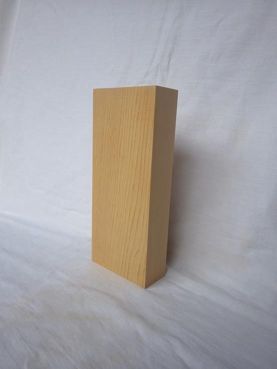 紅桧 表札 高さ210ミリ×幅89ミリ×厚さ37ミリ